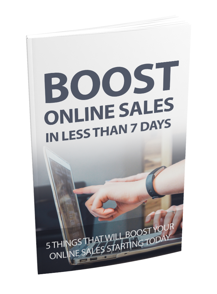 Boost Online Sales Free Report