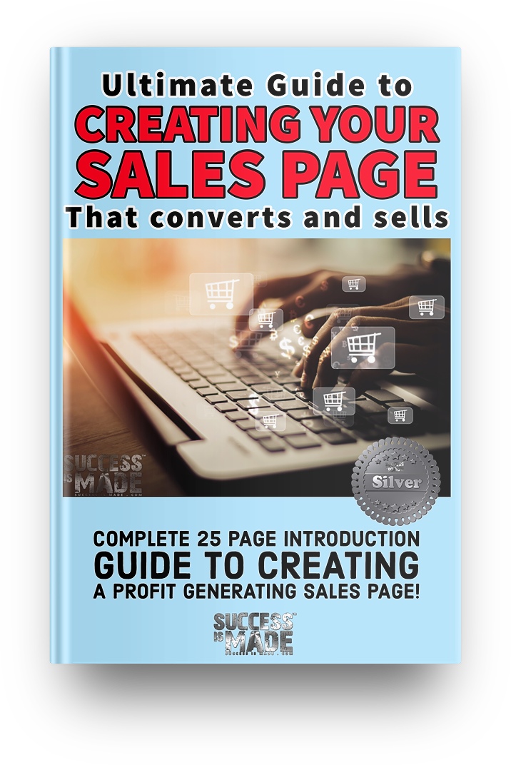 Creating Your Sales Page That Converts and Sells hard cover book